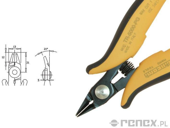 Obcinaczka TR-5000 PG (średnica: 1,02 mm AWG: 18)