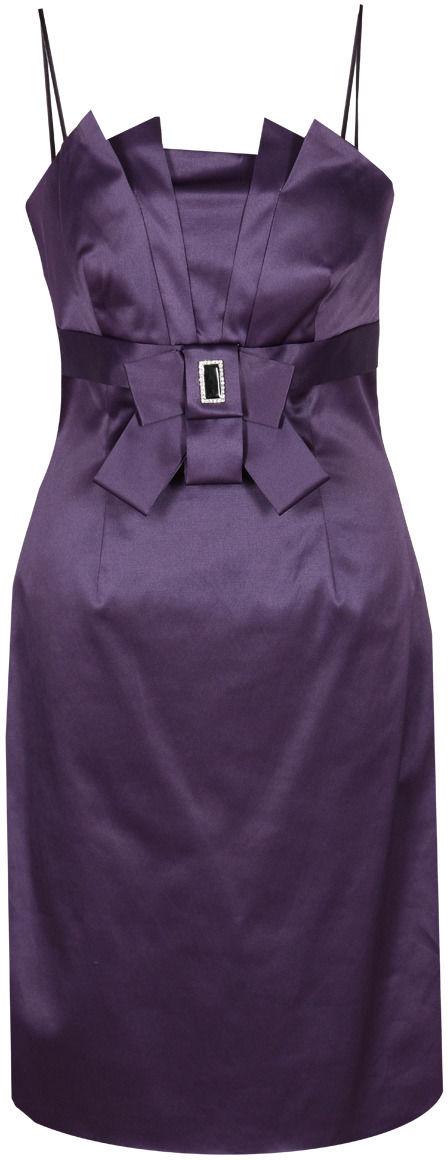 Sukienka FSU201 CHABROWY CIEMNY
