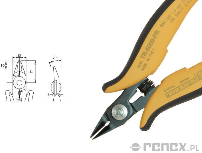 Obcinaczka TR-5000-P-R (średnica: 1,30 mm AWG: 16)
