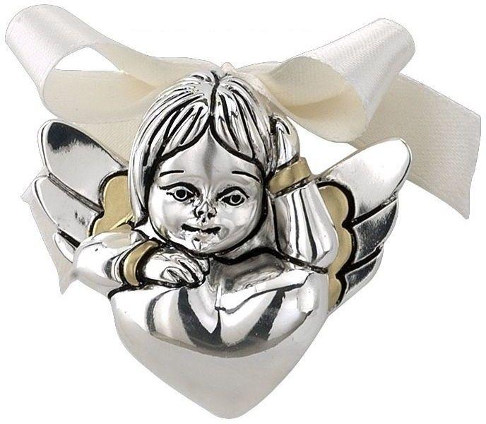 Figurka aniołka Rozmiar: H 6.5 cm Kolor: Złoty SKU: VR 17068ORO