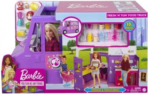 Barbie - Samochód Foodtruck dla lalki GMW07