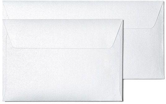Koperta Millenium diamentowa biel DL 10 sztuk w opakowaniu Argo 280116 Rabaty Porady Hurt