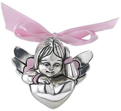 Figurka aniołka Rozmiar: H 6.5 cm Kolor: Różowy SKU: VR 17068R