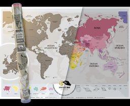 Mapa Zdrapka Premium. Europa, Świat ZAKŁADKA DO KSIĄŻEK GRATIS DO KAŻDEGO ZAMÓWIENIA