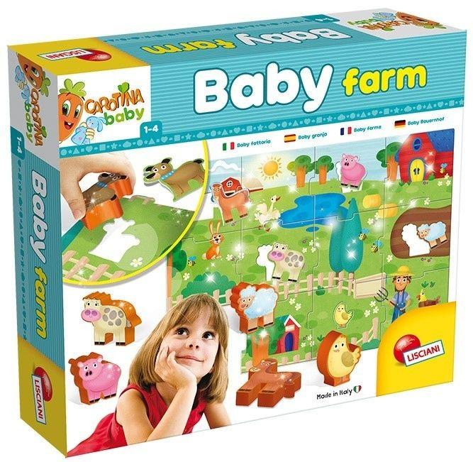 Układanka Carotina Baby Farma