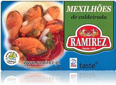 Małże duszone po portugalsku Ramirez 118g
