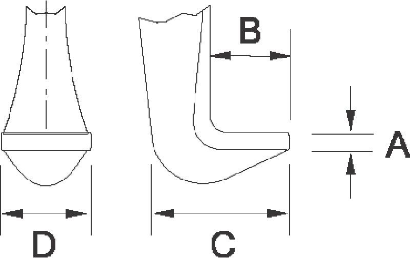 ramiona zapasowe do ściągacza do łożysk [4532K1]