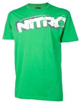 Nitro snowboardowa męska koszulka feedback S/S, Kelly Green, M