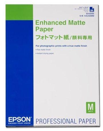 Papier EPSON Enhanced Matte Paper A2 192g - 50 Arkuszy (C13S042095)