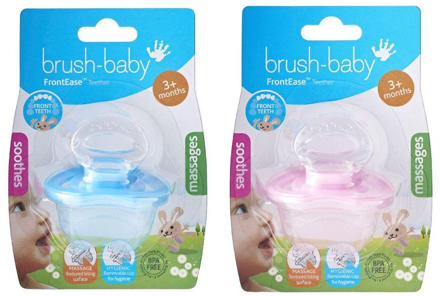 BRUSH-BABY FrontEase - gryzak dla dzieci od 3 mca życia