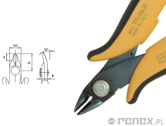 Obcinaczka TR-58-R (średnica: 2,05 mm AWG: 12)