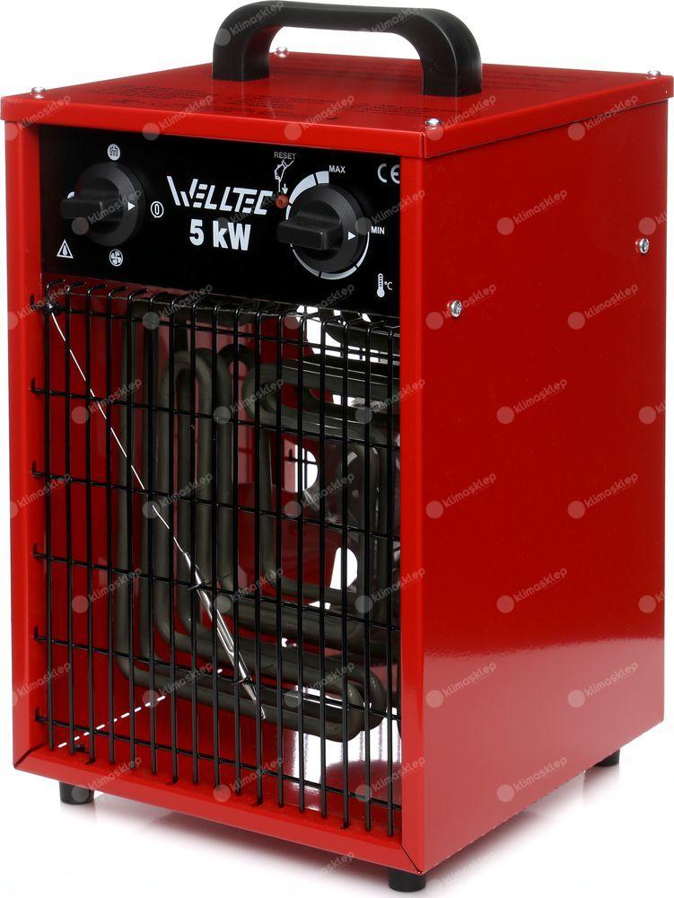 Nagrzewnica elektryczna Welltec EHI50 + zestaw akcesoriów
