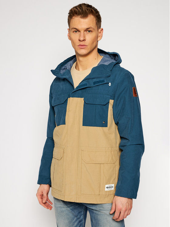 Quiksilver Parka Fresh Evidence EQYJK03543 Brązowy Classic Fit