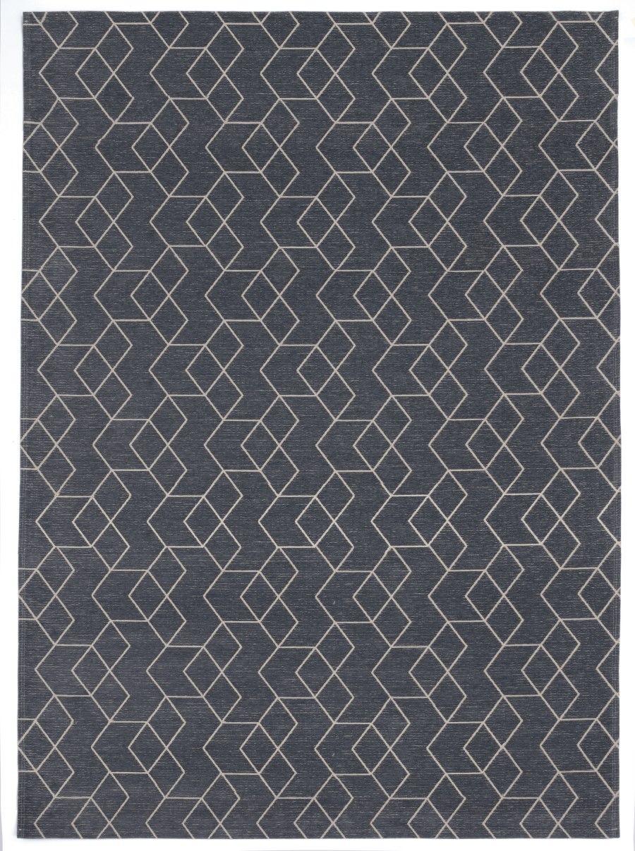 Dywan Carpet Decor Cube Anthracite