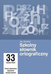 Szkolny słownik ortograficzny - Ebook.