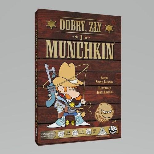 Black Monk Gra Dobry, Zły i Munchkin 5_736879