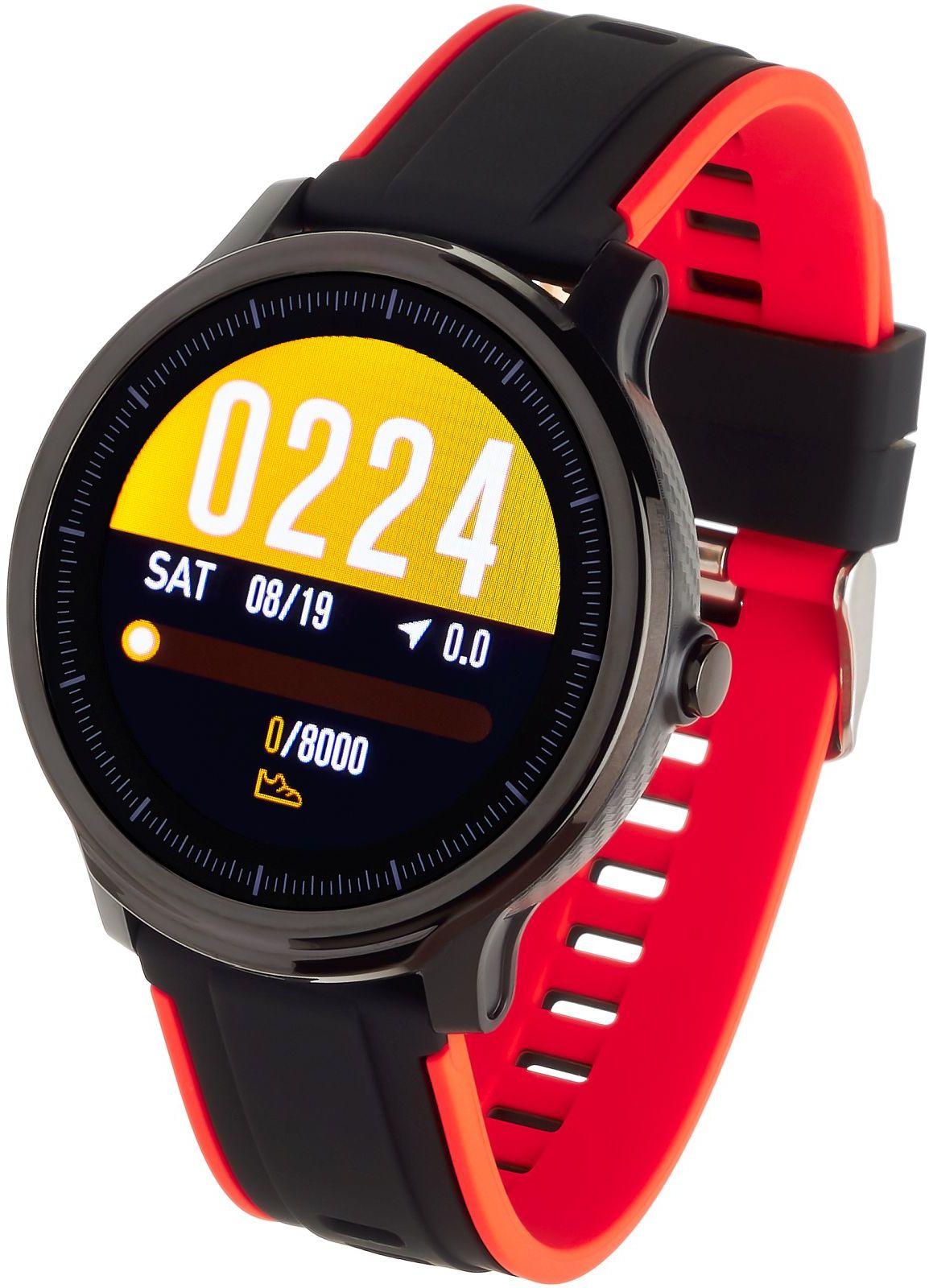 Smartwatch Sport Garett Gym czerwony > Darmowa dostawa UPS Darmowy zwrot DHL przez 100 DNI Odbierz w salonie w Warszawie