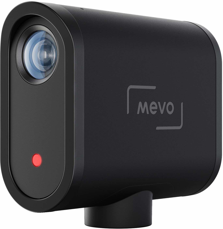 Mevo Start Bezprzewodowa kamera do transmisji na żywo, jakość obrazu HD, sterowanie przez aplikację i przesyłanie strumieniowe przez smartfon lub Wi-Fi - Czarny