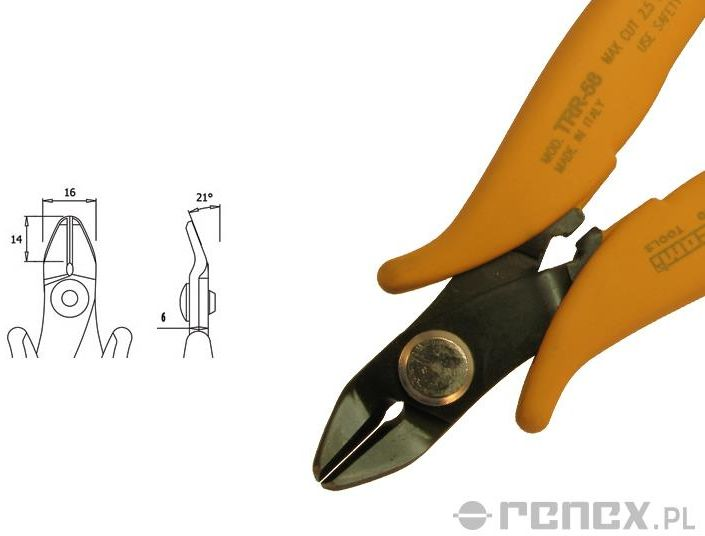Obcinaczka TRR-58 (średnica: 2,59 mm AWG: 10)