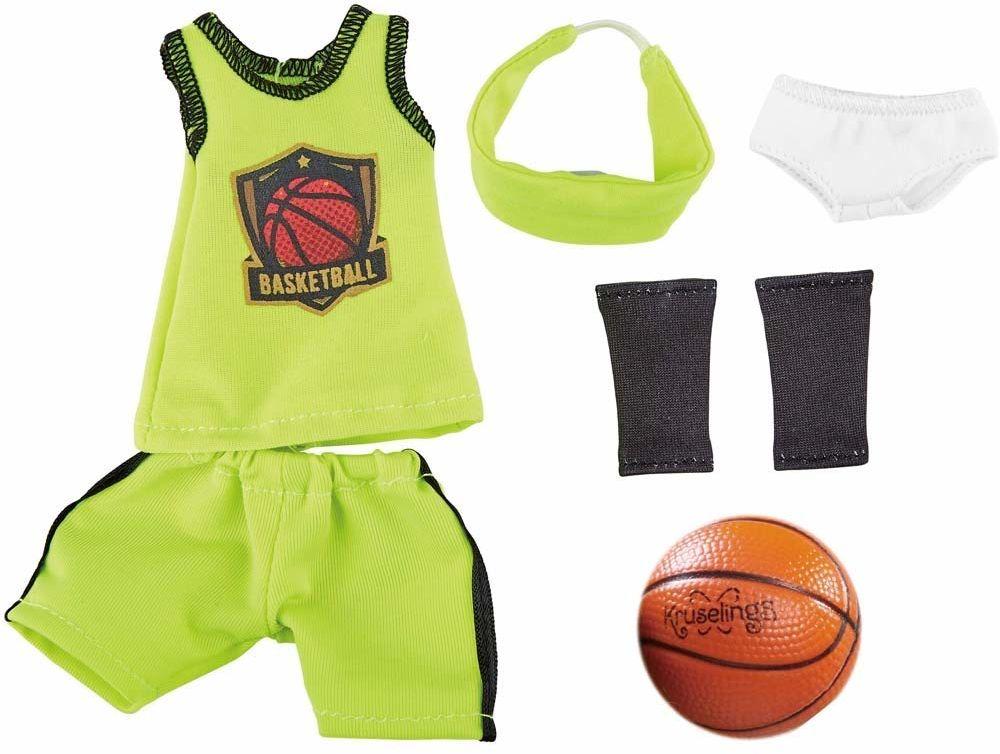 Käthe Kruse 0126864 Joy gwiazda koszykówki, kolor zielony