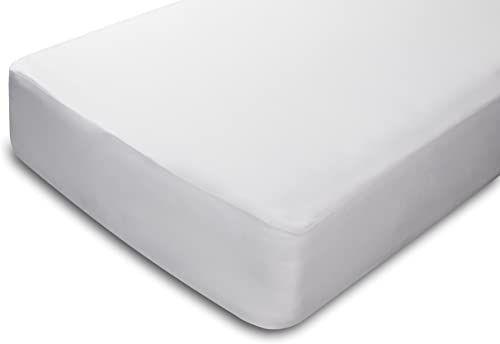Pikolin Home - Ochraniacz na materac, 100% bambus, szybkie odprowadzanie wilgoci, biały, 140 x 190/200 cm, łóżko 140