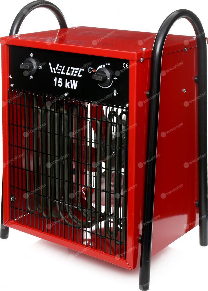 Nagrzewnica elektryczna Welltec EHI150 + zestaw akcesoriów