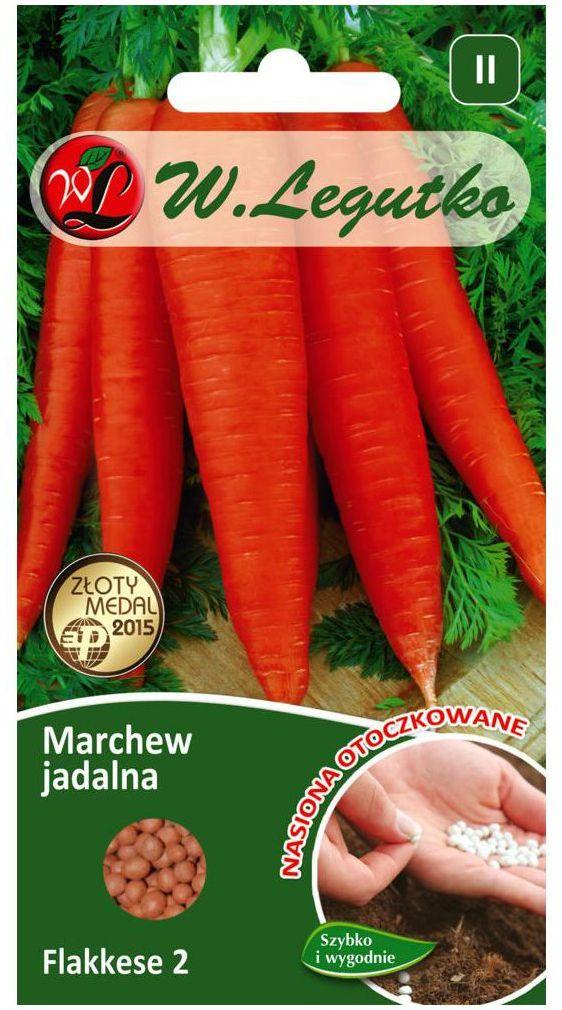 Marchew FLAKKESE 2 - FLACORO nasiona otoczkowane 400 szt. W. LEGUTKO