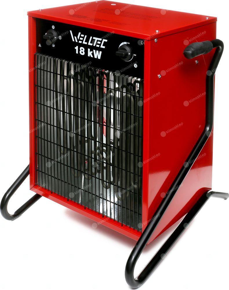 Nagrzewnica elektryczna Welltec EHI180 + zestaw akcesoriów