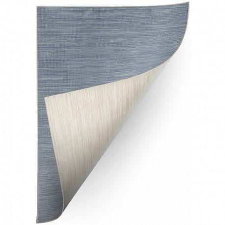 Dywan SZNURKOWY DWUSTRONNY SIZAL DOUBLE 29201/035 melanż niebieski/melanż beż 160x230 cm