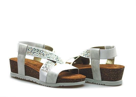 Sandały Marco Tozzi 2-28733-26 Białe lico