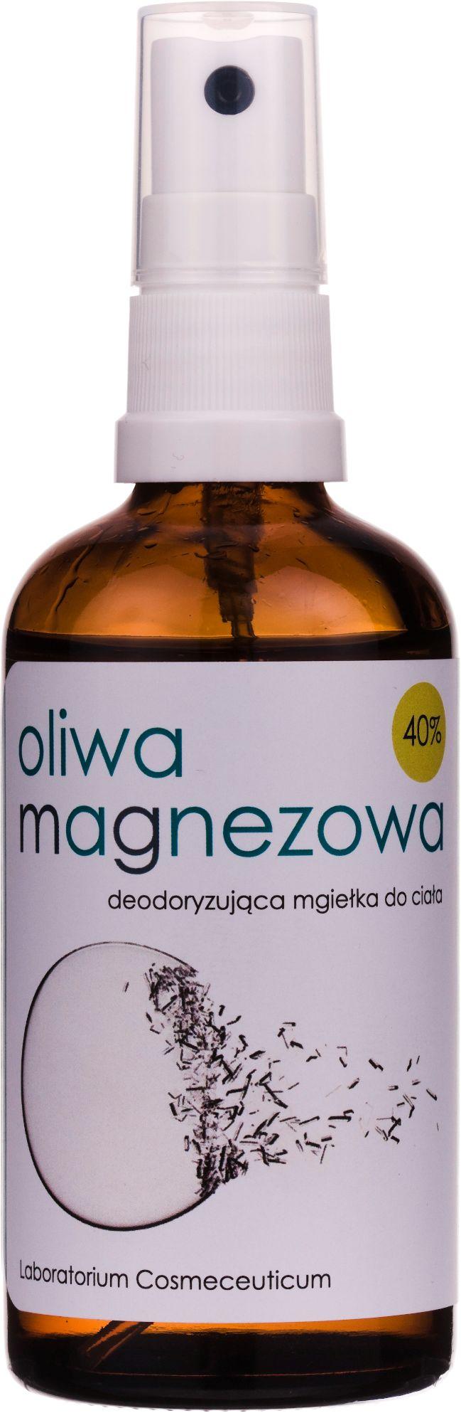40% Oliwa Magnezowa - Deodoryzująca mgiełka do Ciała 100ml