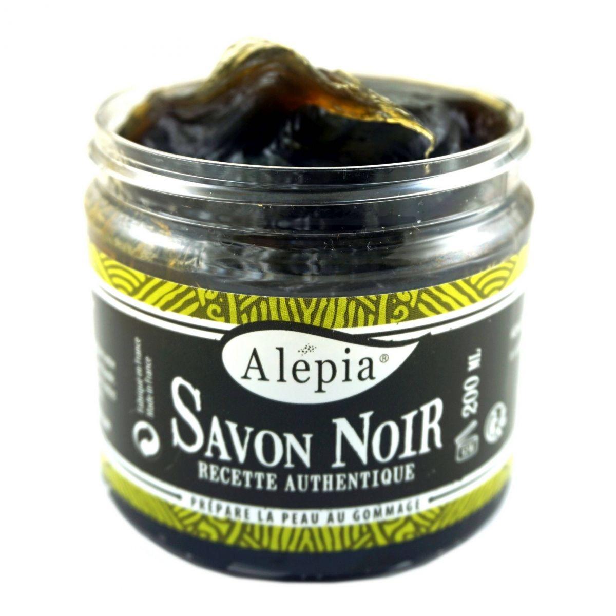 Savon Noir Supreme - Czarne Mydło - 200ml - Alepia