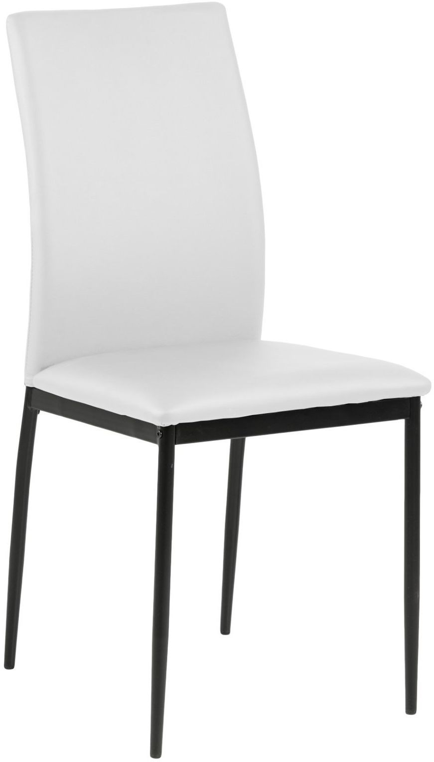 Krzesło Demina white PU
