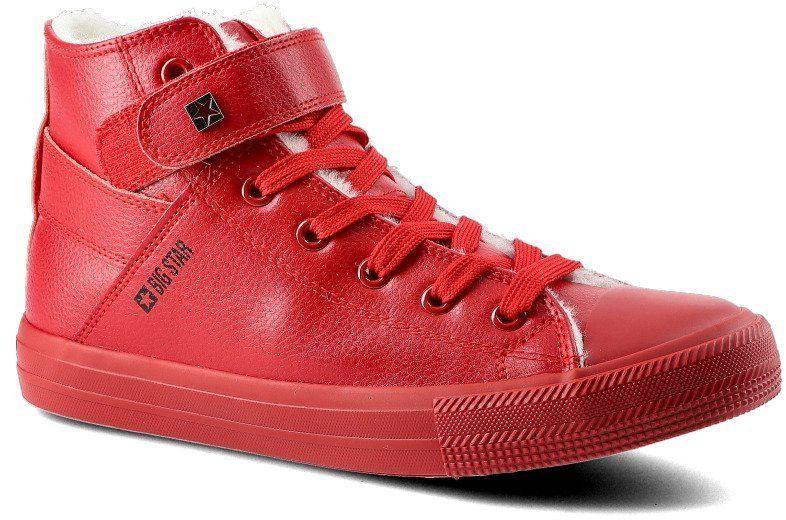 Sneakersy BIG STAR V274529FW20 Czerwony