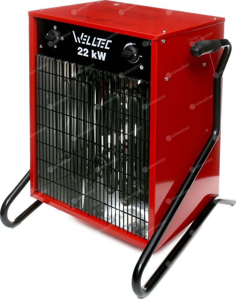 Nagrzewnica elektryczna Welltec EHI220 + zestaw akcesoriów