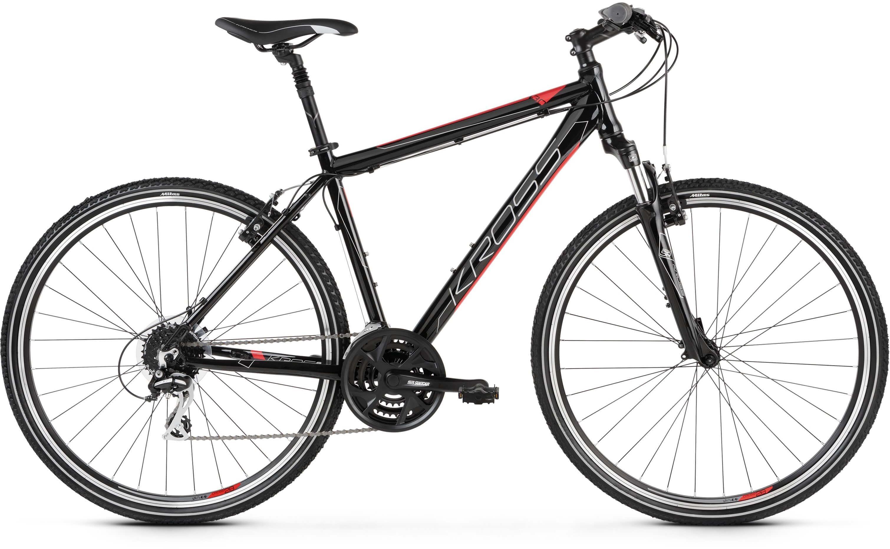 "Rower Kross EVADO 3.0 czarny 28"" 2021"