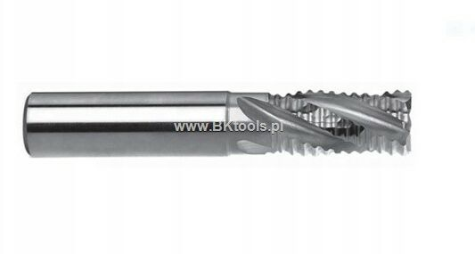 Frez 4-ostrzowy krótki 10 mm DIN 844-A K-M-NR PM HSS-E FENES