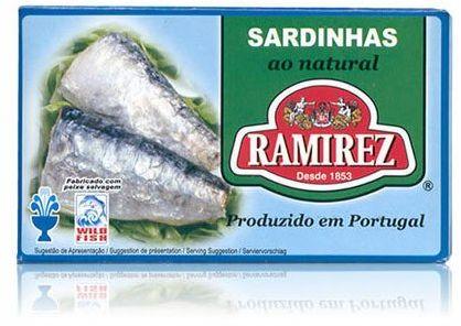 Sardynki portugalskie w sosie własnym Ramirez 125g