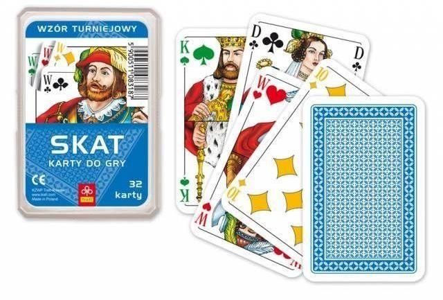 Karty - Skat turniejowy TREFL - Muduko