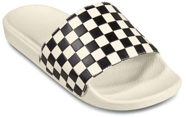 buty VANS - Slide-On (Checkerboard)Wht/Blk (27K