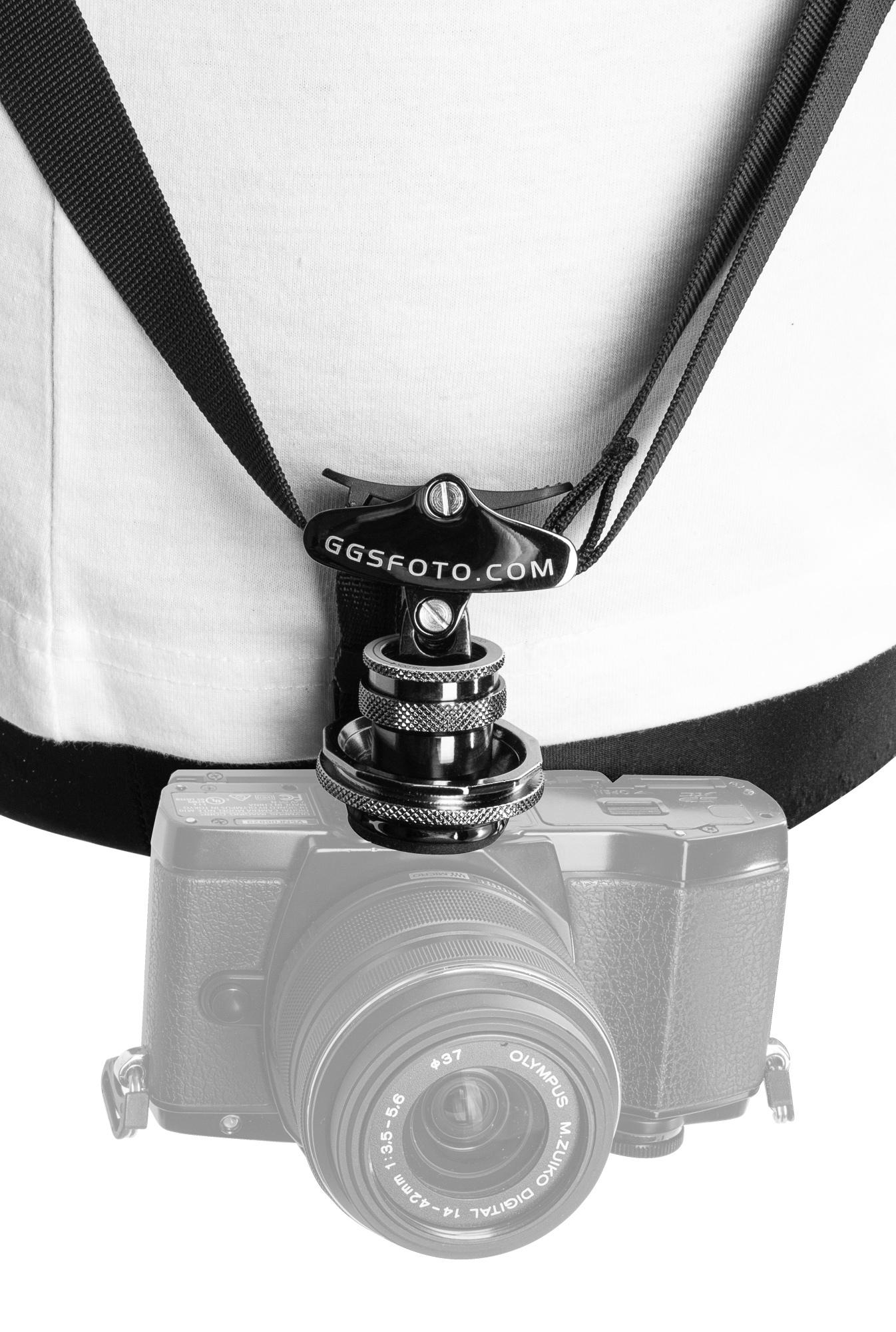 GGS Fotospeed F4 - pasek reporterski do aparatu