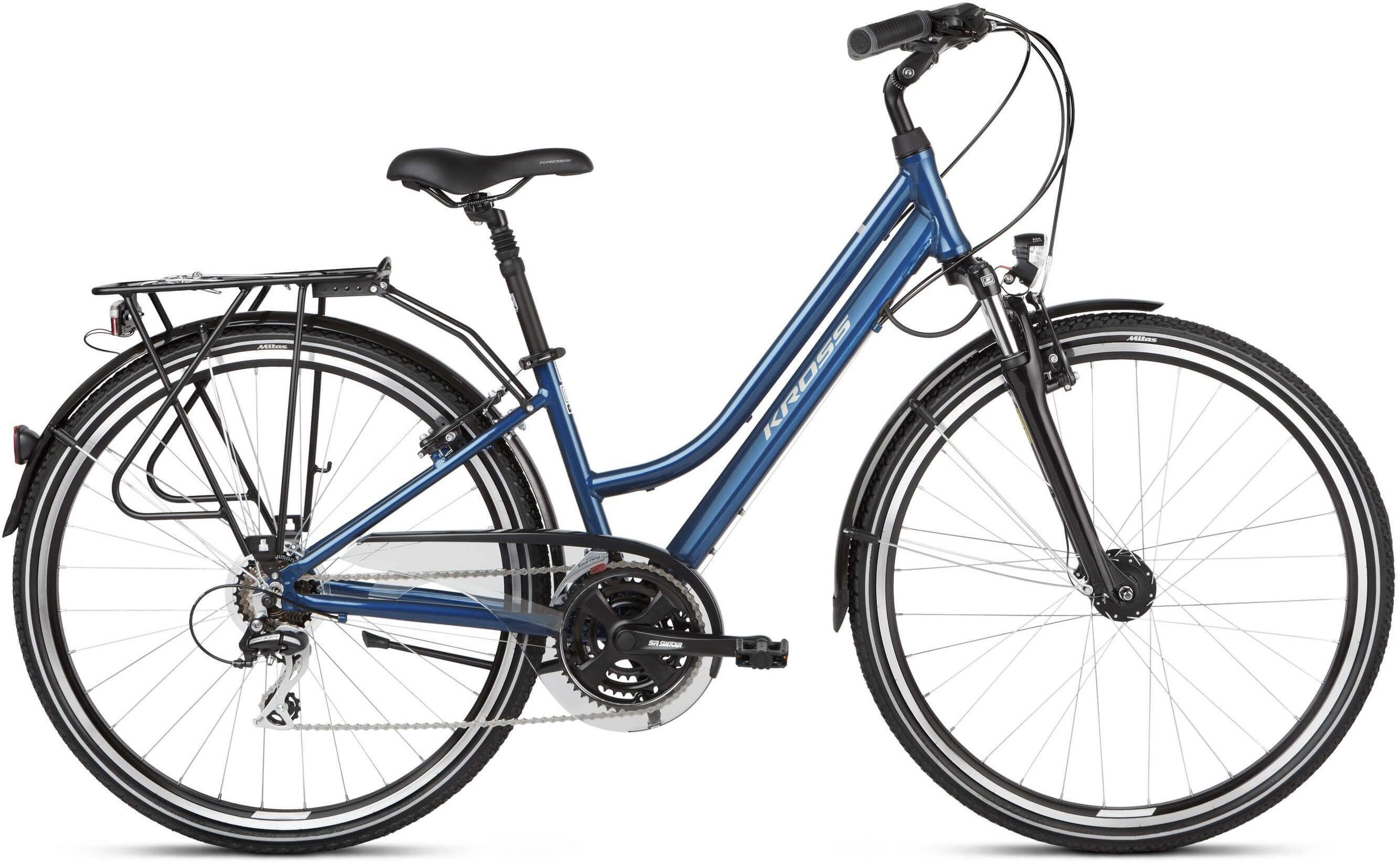 "Rower Kross TRANS 3.0 D niebieski 28"" 2021"