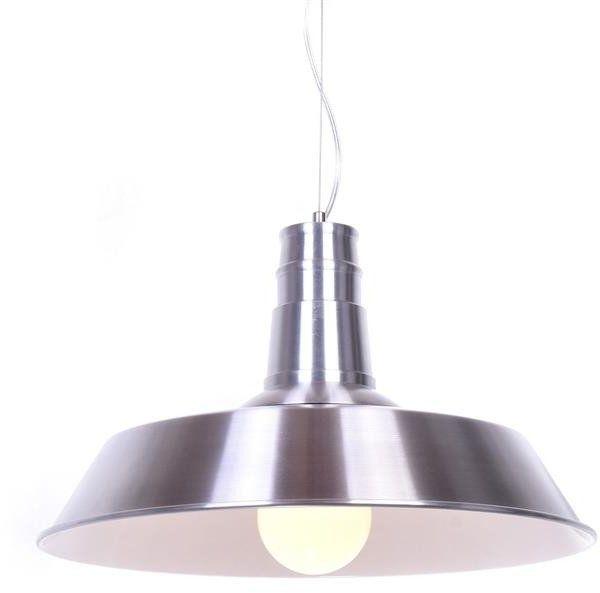 Lumina Deco Saggi industrialna srebrna lampa wisząca