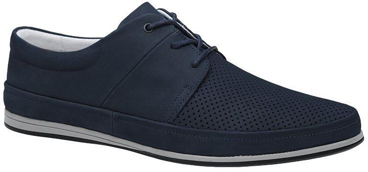 Półbuty KRISBUT 5292-3-9 Granatowe Sneakersy sznurowane