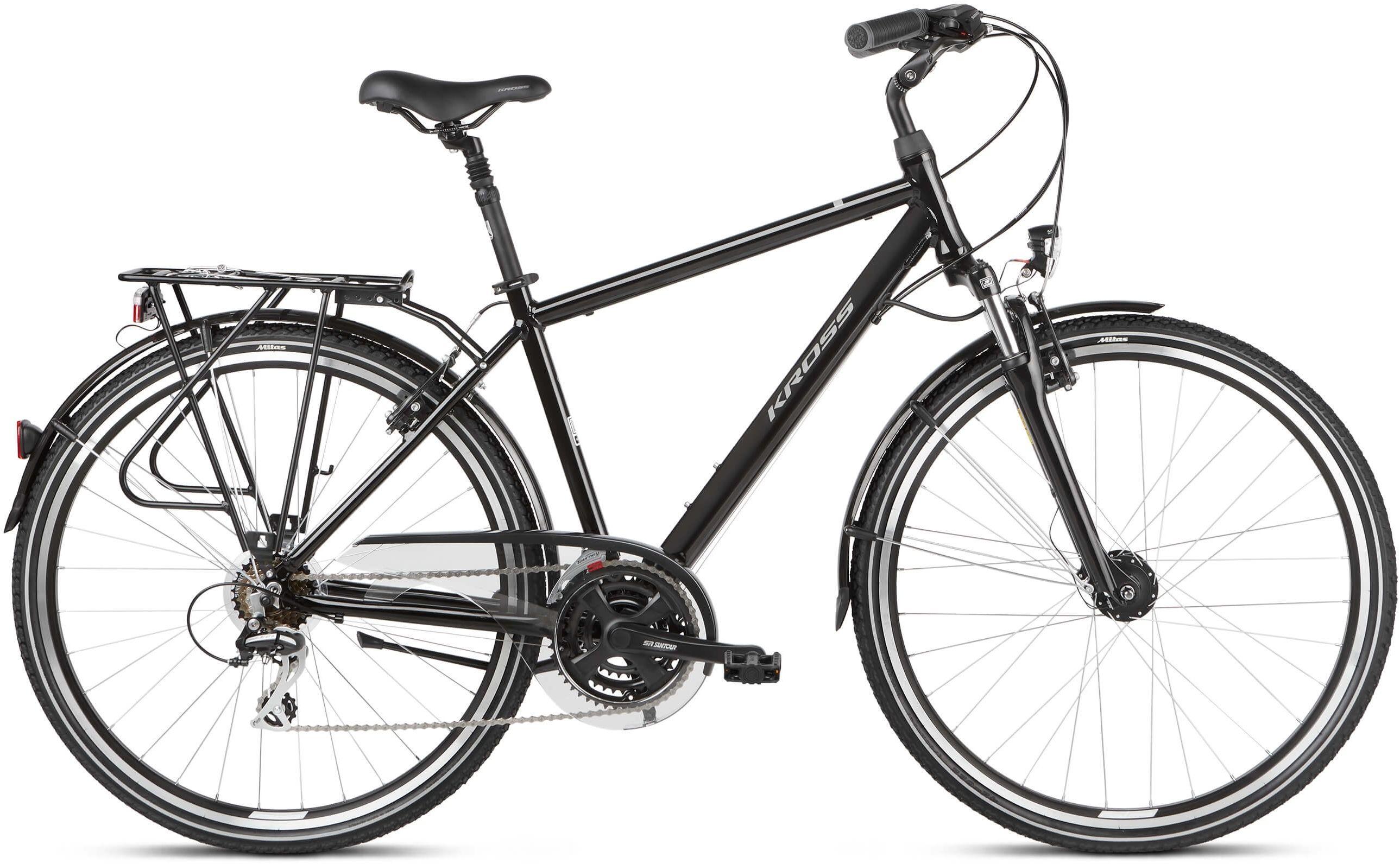 """Rower Kross TRANS 3.0 czarny 28"""" 2021"""