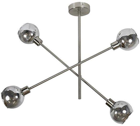 Lampa sufitowa nowoczesna MIGO IV chrom śr. 54cm - 4