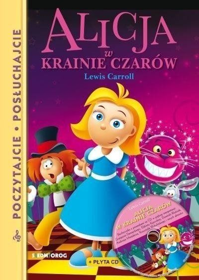 Alicja w krainie czarów + CD w.2019 - Lewis Carroll