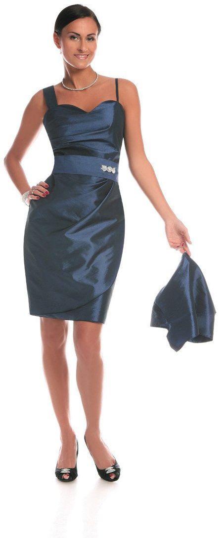Sukienka FSU179 CHABROWY CIEMNY