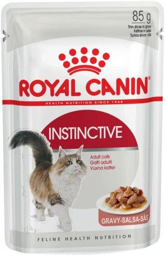Royal Canin Instinctive w sosie karma mokra dla kotów dorosłych, wybrednych saszetka 85g Royal Canin Feline DLA ZAMÓWIEŃ + 99zł GRATIS!