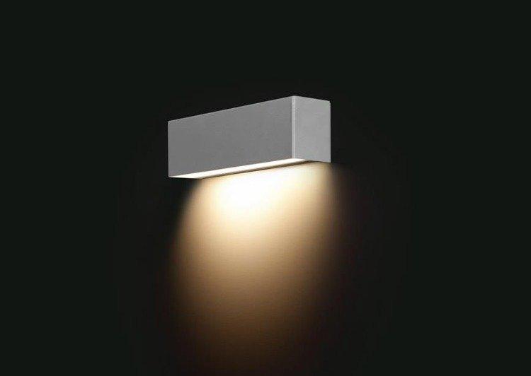 Kinkiet STRAIGHT WALL SILVER XS 26cm 6354